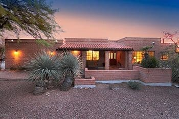 Luxury home in The Canyons on Secret Canyon Place in Tucson