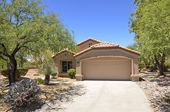 Private Home with Double Lot for Sale in Sun City Oro Valley.