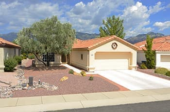 Gated Retirement Townhome in Vistoso Village Oro Valley AZ