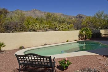 Catalina Foothills Home For Sale in Tucson, AZ with Mountain Views and Pool