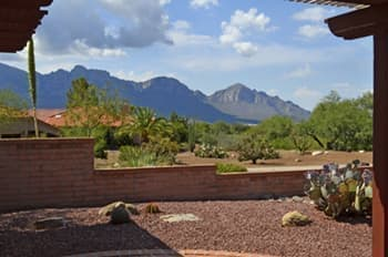 Sun CityOro Valley home for sale with Stunning mountain views