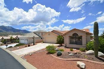 Saddlebrooke Home For Sale with a Private Guest Casita & Catalina Mountain Views