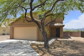 West Tucson AZ 85745 Home for Sale Backing to Open Space