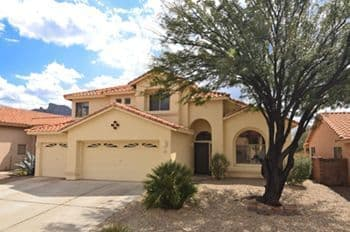 Oro Valley home for sale in Vista Del Oro Estates with Catalina Mountain Views