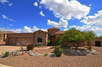 Catalina Foothills Tucson Arizona Gated Community Home for Sale Pinnacle Ridge