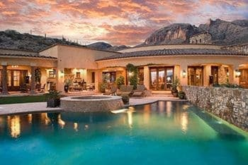 Catalina Foothills Tucson Arizona The Canyons Neighborhood Home for Sale Secret Canyon Place