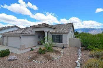 Home for Sale in Rancho Vistoso Oro Valley AZ with Pool