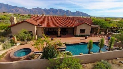 Stone Canyon Custom Home in Oro Valley AZ 85755