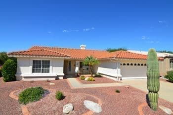 Sun City Home for Sale Tucson AZ Sabino Model