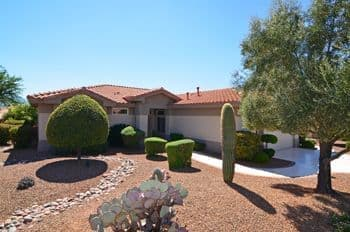 Sun City Home for Sale Tucson AZ Sunrise Model