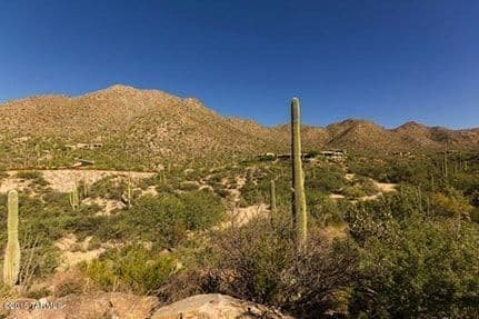 Custom Home Lot Land for Sale in Dove Mountain AZ Canyon Pass